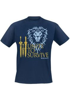 Unite To Survive - T-shirt van Warcraft