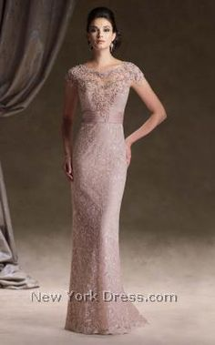 Mon Cheri 113D00 - NewYorkDress.com Would love this in navy blue and in the color shown.