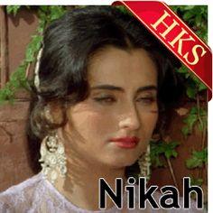 Ghazals karaoke Songs :-  SONG NAME - Chupke Chupke Raat Din MOVIE/ALBUM - Nikaah SINGER(S) - Ghulam Ali MUSIC DIRECTOR - Ravi