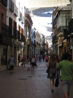 Calle Sierpes, Sevilla, España