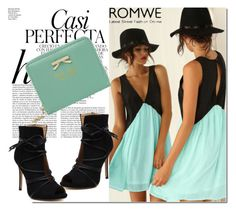 """ROMWE  6"" by melissa995 ❤ liked on Polyvore featuring Whiteley"
