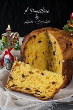Italian Christmas Cake, Christmas Desserts, 123 Cake, Panettone Bread, Sweet Recipes, Cake Recipes, Brioche Recipe, Home Baking, Sweet Bread