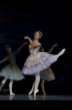 Viengsay Valdes wearing a gorgeous tutu in The Washington Ballet's production of Don Quixote in 2009 - Photo by Brianne Bland