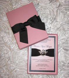 The Christine Sweet Sixteen Princess by TheCoutureInviteDiva