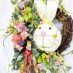 DIY Easter Wreaths - learn to make designer wreaths from the comfort of your own home!