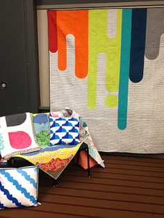 Freshly Pieced Modern Quilts: WIP Wednesday: Market Aftermath - A Quilter's Mixology by Angela Pingel of Cut to Pieces