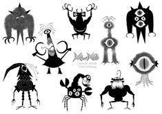 Character Designs de Mune: O Guardião da Lua, por Julien Le Rolland | THECAB - The Concept Art Blog