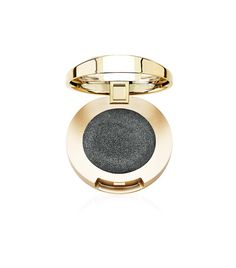 Milani Bella Eyes Gel Powder Eyeshadow in Bella Charcoal. This has a creamy and smooth texture and a shimmer finish. It's easy to blend, it's pigmented, it's long-wearing (at least over a primer), and the color is so pretty. I really like this eyeshadow! Also, it's good-quality and extremely affordable.