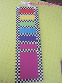 folder pocket chart made with duct tape