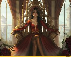 Sou a rainha de um reino qualquer. Então, use a sua imaginação!