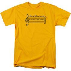 Sun Records: Music Staff T-Shirt