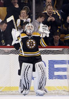 Tim Thomas, Boston Bruins -Awesome and I hate he is retired...