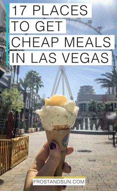 Vegas is a top spot for foodies, but you don't have to break the bank to eat there. Here are the best places to eat in Las Vegas on a budget. Las Vegas Hotels, Las Vegas Restaurants, Las Vegas Food, Las Vegas Vacation, Las Vegas Nevada, Vegas Fun, La To Vegas, Trips To Las Vegas, Buffets In Las Vegas