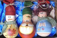 ёлочная игрушка из лампочки: 20 тыс изображений найдено в Яндекс.Картинках