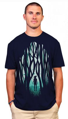Another World T-shirt by filiskun from Design By Humans