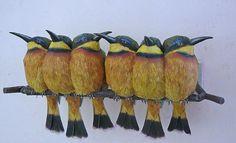 Pájaros de papel 3D increíblemente realistas