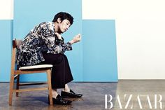 Jang Hyuk - Harper's Bazaar Magazine August Issue '13