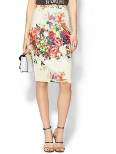 Floral Pencil Skirt from Piperline