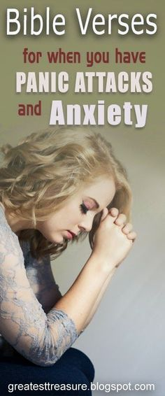 Helpful Bible Verses for Panic Attacks and Anxiety         |          Greatest Treasure :)