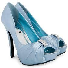 Image result for light blue wedding shoes