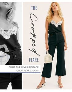 Free People: Re: those jeans you wanted. Fashion 2020, Look Fashion, Teen Fashion, Fashion Design, Free People Clothing, Free People Dress, E-mail Design, Social Media Design, Fashion Graphic