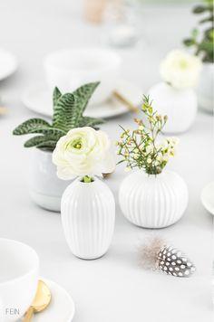 Kähler Miniaturvasen Tischdeko Sukkulenten