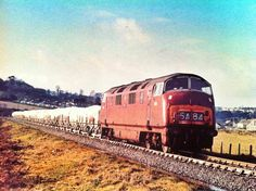 Blazey with sheeted clay wagons for Fowey docks, January 1968 taken by A. Electric Locomotive, Diesel Locomotive, St Blazey, British Rail, Electric Train, Train Pictures, Great Western, Wolverhampton, Steam Engine