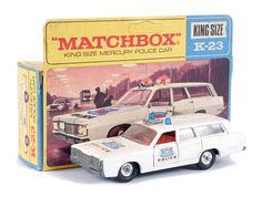 "Matchbox Kingsize No.K23 Mercury ""Police"" Car"