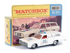 "Matchbox Kingsize No.K23 Mercury ""Police"" Car"