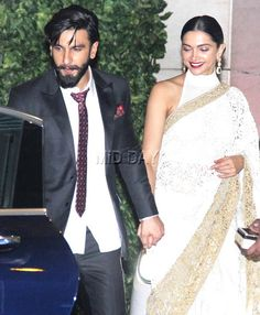 Ranveer Singh and Deepika Padukone were seen holding hands at Mukesh Ambani's bash at his residence Antilia in Mumbai. #Bollywood #Fashion #Style #Beauty #Hot #Sexy