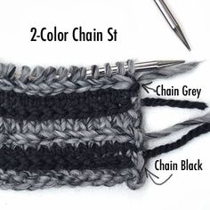 When I reported on Pebble,  the latest yarn from Shibui, and its use in projects for our newsletter subscribers, I stumbled upon a new stitc...