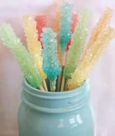 rock candy recipe for-the-kiddos