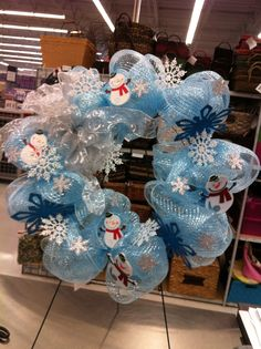 Snowflakes and snowmen by kristy@michaels