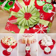 Love this cute gift wrapping!