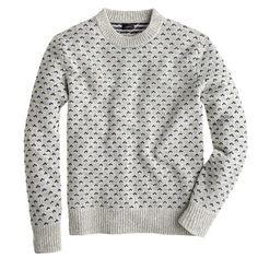 With Scandinavia design being the rage right now it is no shock that this Nordic dot sweater is also inspired by it. Nordic Pullover, Nordic Sweater, Men Sweater, Knitwear, Men Casual, Mens Fashion, My Style, Scandinavia Design, Sweaters