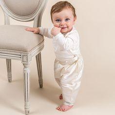 Newborn Boy 3-Piece Set - Owen Christening & Baptism Collection