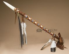 Native American Hunting Spear Apache Indian Weapons ...