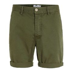 Green Chino Shorts (375 UAH) ❤ liked on Polyvore featuring shorts, green chino shorts, green shorts and chino shorts