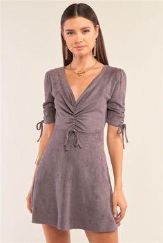 Cami Midi Dress, Tube Top Dress, Bodycon Dress, Wrap Dress, Mini Dress With Sleeves, Lace Sleeves, Soft Suede, Elegant Dresses, Women's Dresses