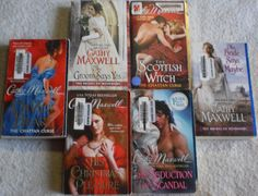 Cathy Maxwell Lot of 6 Scottish Witch~Devil's Heart~The Groom Says Yes +