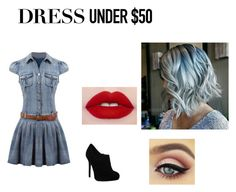 """""""Sin título #4"""" by aliss-15 on Polyvore featuring moda y Dressunder50"""