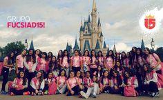 #fucsiaD15 llegó a Magic Kingdom llenando de #enjoy15 a #WaltDisneyWorld!