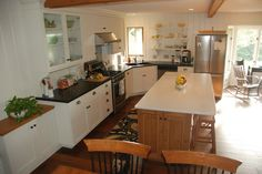 Cheri's dream kitchen at The Cottage - I love this!!!
