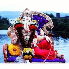 New pin for Ganpati Festival 2015 is created by by vj_just_click with पढचय वरष लवकर य...