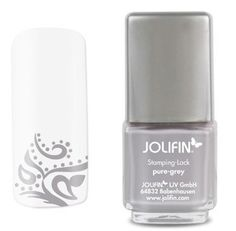 vernis JOLIFIN spécial stamping PURE GREY