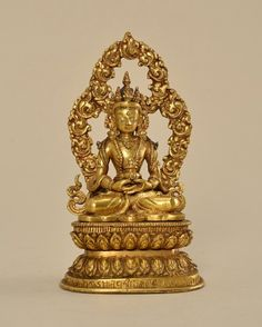 Amitabha Buddha, Museum Collection, Himalayan, Beijing, Nepal, Decorative Bells, Auction, China, Artwork
