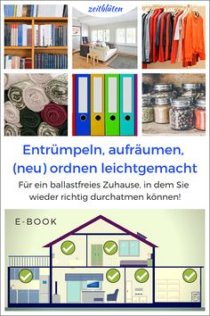 Richtig aufräumen – 10 Zaubertipps – Zeitblüten Best Picture For tidy up marie kondo For Your Taste You are looking for something, and it is going to tell you exactly … Bathroom Cleaning Hacks, House Cleaning Tips, Vinyl Siding, Tidy Up, How To Make Shorts, Clean Up, Getting Organized, Declutter, Clean House
