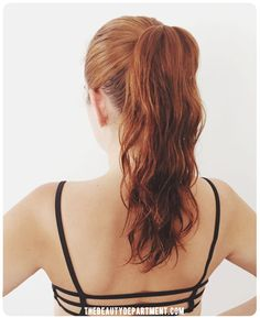Wet hairstyle #2 {tutorial on thebeautydepartment.com}