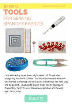 604953f7a31f3 My Top 10 Tools for Sewing Spandex Fabrics - Updated!