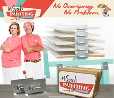 Painting with our patented door decker makes your experience a piece of cake! Think we are pulling your leg? See the difference for yourself by clicking the link below! https://bit.ly/2Lno7Zk